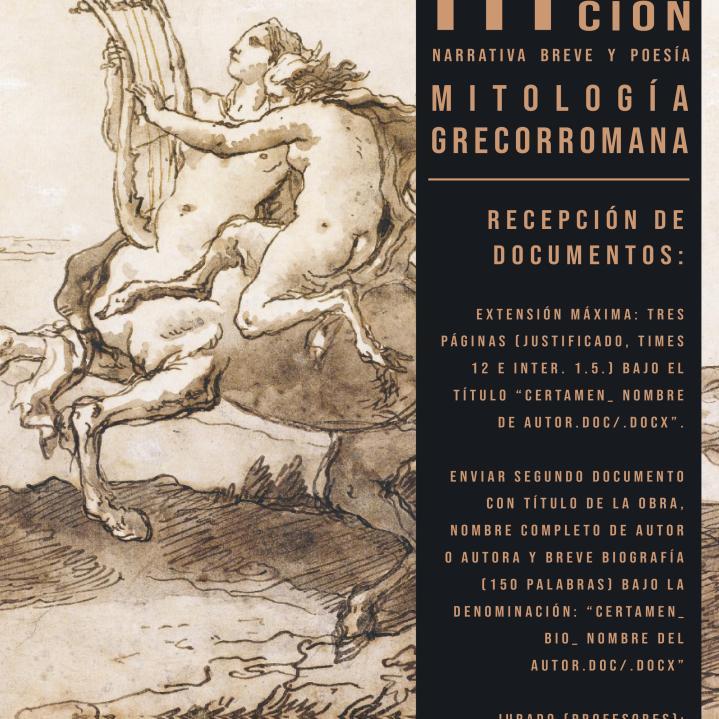 III Certamen de Mitología AEFL- Revista Virtual Quimera